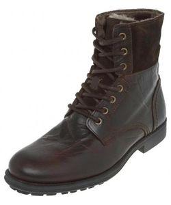 Aldo | Высокие Утепленные Ботинки Из Натуральной Кожи