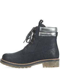 s.Oliver   Кожаные Ботинки С Серебристыми Вставками