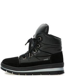 Jog Dog   Черные Ботинки Из Замши И Текстиля