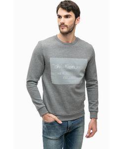 Calvin Klein Jeans   Свитшот С Фактурным Принтом