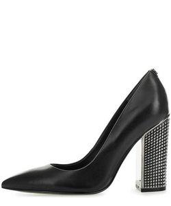Guess | Кожаные Туфли На Устойчивом Каблуке