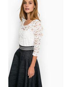 Liu •Jo Jeans | Кружевная Блуза Со Съемной Подкладкой