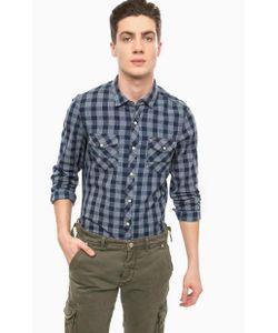 Alcott | Приталенная Хлопковая Рубашка На Кнопках