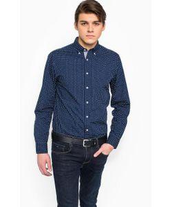 Tommy Hilfiger | Синяя Хлопковая Рубашка
