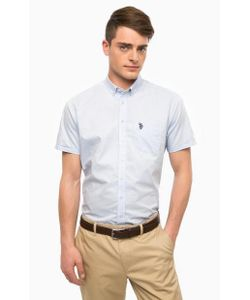 U.S. Polo Assn. | Рубашка Из Хлопка С Короткими Рукавами