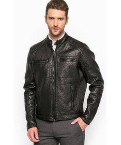 Gas | Черная Куртка На Молнии