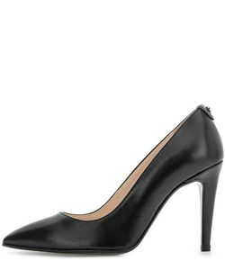 Trussardi Jeans | Черные Кожаные Туфли На Каблуке