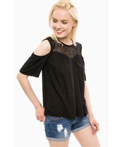 Vero Moda   Черная Блуза С Короткими Рукавами