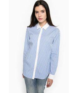 Michael Michael Kors | Синяя Рубашка Из Хлопка В Полоску