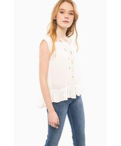 Denim & Supply Ralph Lauren   Блуза Свободного Кроя Молочного Цвета