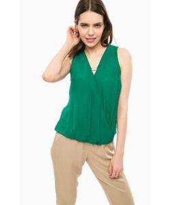 Alcott | Зеленая Блуза С Металлическим Декором