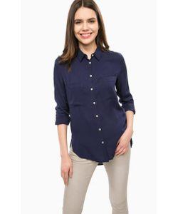 Alcott | Синяя Блуза С Длинными Рукавами