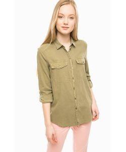s.Oliver | Хлопковая Рубашка С Двумя Карманами
