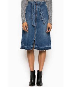 Pepe Jeans | Расклешенная Джинсовая Юбка На Молнии
