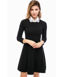 Pennyblack | Трикотажное Платье Со Съемным Воротничком