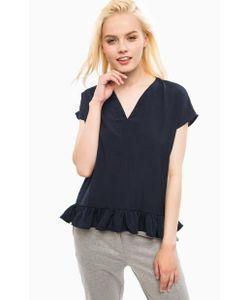 Vero Moda   Однотонная Блуза С Короткими Рукавами
