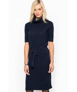 Tommy Hilfiger | Шерстяное Однотонное Платье С Поясом