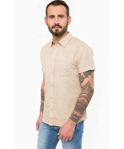 Wrangler | Однотонная Льняная Рубашка