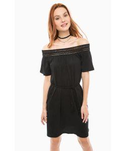 Vero Moda | Черное Короткое Платье