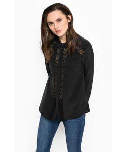 Calvin Klein Jeans | Шелковая Блуза На Пуговицах