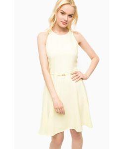 Kocca | Приталенное Желтое Платье Без Рукавов