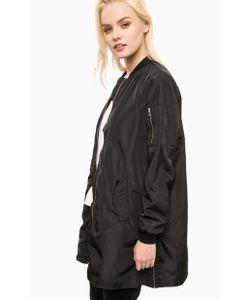 Vero Moda | Удлиненная Черная Куртка На Молнии