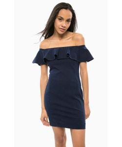Guess | Короткое Джинсовое Платье С Молнией На Спине