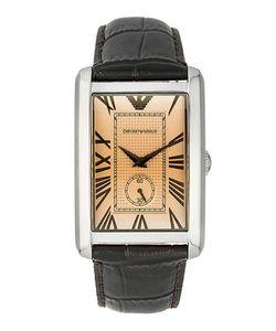 Emporio Armani | Кварцевые Часы С Прямоугольным Циферблатом