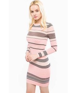 Juicy Couture | Короткое Платье Из Хлопка В Полоску