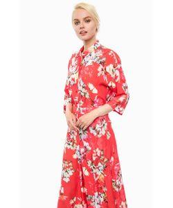 Cinque   Блуза Из Вискозы С Цветочным Принтом