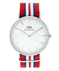 Daniel Wellington | Часы Округлой Формы Со Съемным Текстильным Ремешком