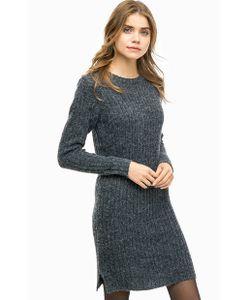 ICHI | Вязаное Платье С Длинными Рукавами