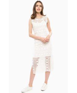 Liu •Jo Jeans | Ажурное Платье С Разрезами По Бокам