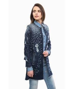 Liu •Jo Jeans   Джинсовое Пальто С Декоративной Отделкой