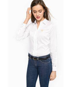 Tommy Hilfiger | Хлопковая Рубашка Белого Цвета