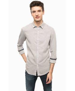 Tom Tailor Denim | Приталенная Рубашка Из Хлопка