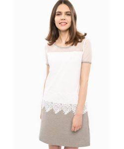 LIU •JO SPORT | Платье С Сетчатой Кокеткой И Кружевом
