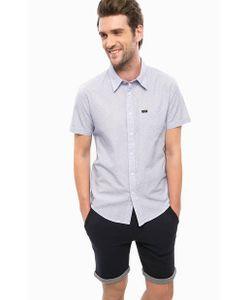 Lee | Приталенная Хлопковая Рубашка С Короткими Рукавами