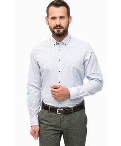 LERROS | Синяя Рубашка С Приталенным Кроем