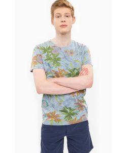 Pepe Jeans | Хлопковая Футболка С Цветочным Принтом