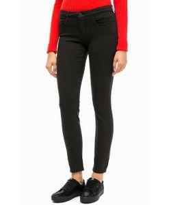 Calvin Klein Jeans   Черные Джинсы Скинни Со Стандартной Посадкой