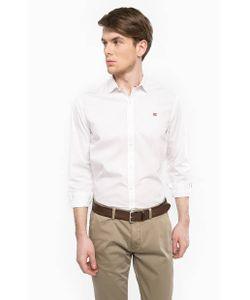 Napapijri | Хлопковая Рубашка С Нашивками