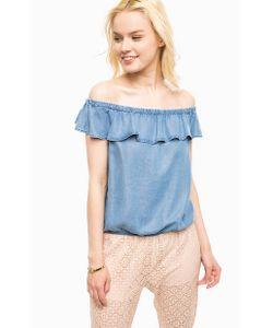 Kocca | Блуза Из Денима С Открытыми Плечами