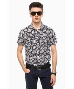 ARMANI JEANS | Рубашка Из Вискозы С Короткими Рукавами