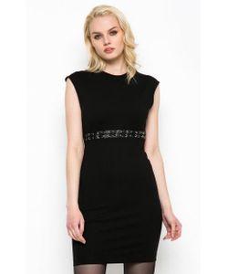 Diesel | Короткое Черное Платье Из Вискозы