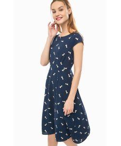 Sugarhill Boutique | Приталенное Платье Средней Длины