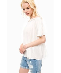 Vero Moda   Блуза Из Вискозы На Резинке