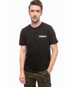 Carhartt WIP | Хлопковая Футболка Черного Цвета