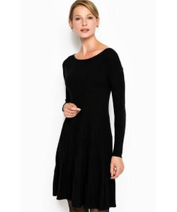 Stefanel | Трикотажное Платье Расклешенного Кроя
