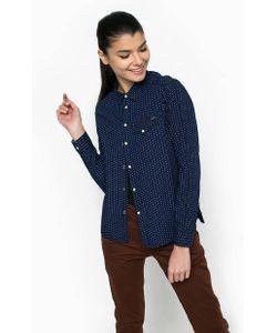 G-Star | Приталенная Синяя Рубашка Из Хлопка